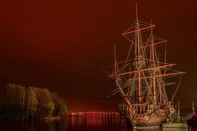 Gott praedestinatio ship vrn monument history night корабль памятник воронеж история флот ночь