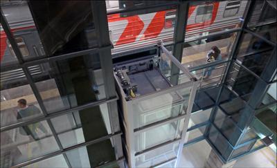 Нулевая крыша лифта Ладожский_вокзал перрон лифт
