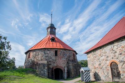 Корела крепость Корела Приозерск