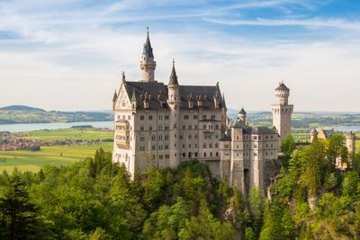 Бавария. Замок Нойшванштайн.