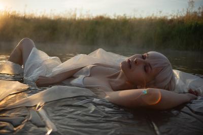 Diana девушка блондинка портрет