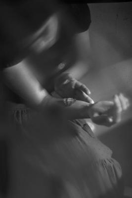 *** девушка бабочка руки
