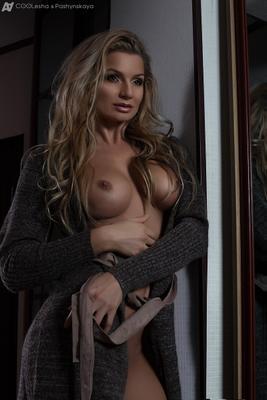 *** COOLesha.com a2production COOLesha Pashynskaya girl art portrait make up nude