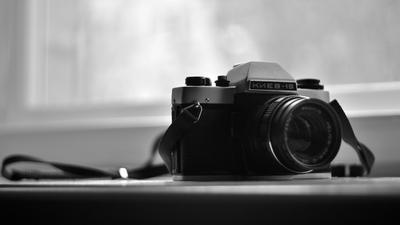 Киев 19 натюрморт фотоаппарат свет монохромный ясинский черно-белый