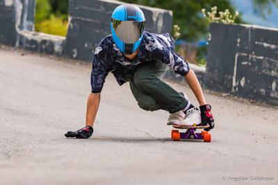 *** Сочи Красная поляна лонгборд лонгбордер longboard longboarder track трек extreme sports экстремальный спорт