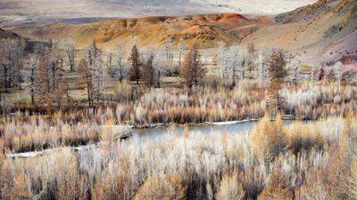 Цветные горы Алтай май 2019 горы