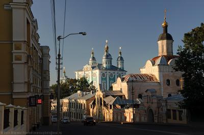 Летний вечер в Смоленске Смоленск Троицкий Монастырь Успенский Собор