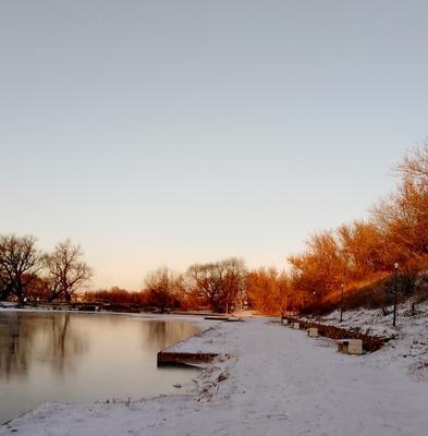 Первый  снег,Саратовская  область