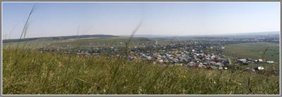 Я посёлок... Татарстан посёлок природа панорама солнце воздух земля холм