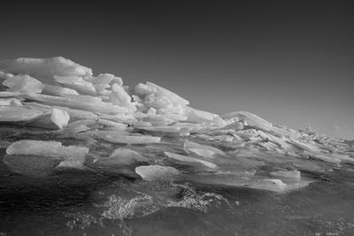 Ледяная волна. лёд волна