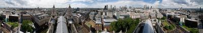 Ценральный Лондон по кругу Лондон собор Сент-Пол St.Paul's Cathedral панорама