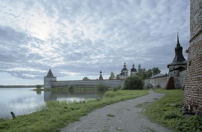 Северный вечер или вечерний север Кириллов Белозерск монастырь север Вологда North