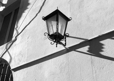 Этюд с фонарем