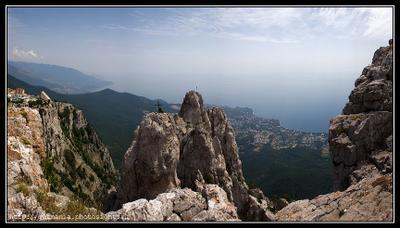 Крымские зарисовки #3 Крым, Мисхор, Ялта,  Ай-Петри, горы, море, небо, облака, лес, дорога, пейзаж, свет