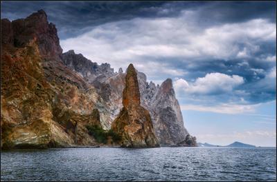 *Загадочный и всегда манящий Кара-Даг Карадагский природный заповедник Коктебель Курортное южный берег Крыма