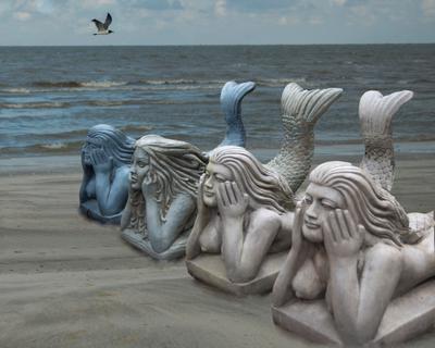 Нудистский пляж русалки