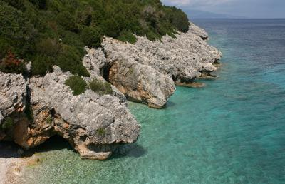 Kato Lagadi Kato Lagadi beach Ionian sea Kefalonia island Greece