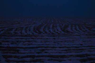 *** Ночь чернозём зима