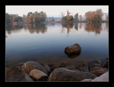 Осенним утром