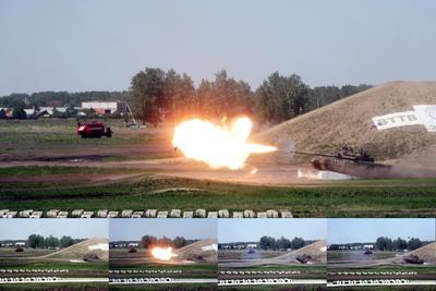 Летающий танк Т-80УК танк вттв вттв-2009 т-80 т-80ук