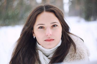 Диана. портрет, девушка, взгляд, гелиос