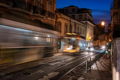 Трамваи Лиссабона Lisboa Portugal