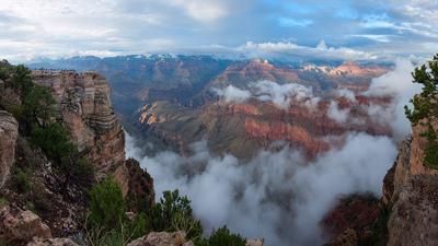 Закат на каньоне 2