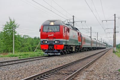 ЭП2К-237 СПБ Апраксин поезд электровоз ЭП2К-237