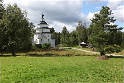 Ильинская церковь Ферапонтово Храм на Цыпинсом погосте