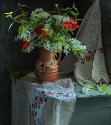 Весна в старом доме...