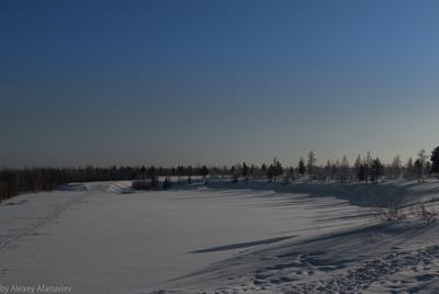 Северные просторы Новый Уренгой зима просторы