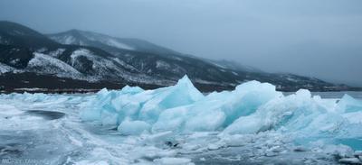 еще одна фоточка с байкальскими льдинами зимний Байкал лёд winter Baikal ice