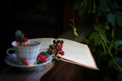 Вечерний чай в деревне