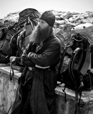 Афонский паломник.