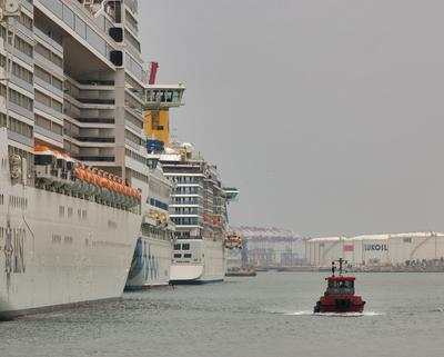 Barcelona барселона порт