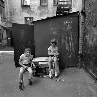 Где-то на Разъезжей. Ленинград 1989. Mokhorev