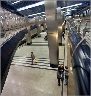 станция Выставочная Москва метро