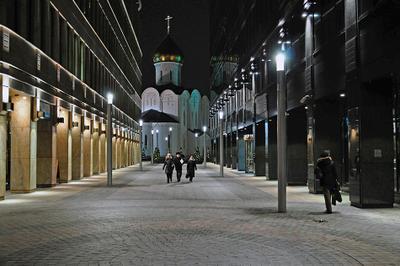 новодельный уголок Москвы город