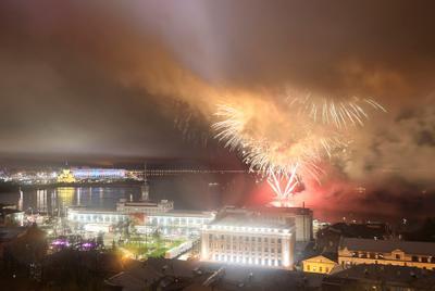 Нижний Новгород День Победы Салют 09 05 2021 Нижний Новгород День Победы Салют 09 05 2021
