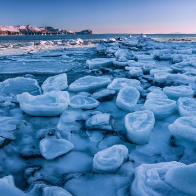 *** утро море зима