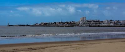 Руайях. Франция. Море красота пляж настроение солнце весна город Франция