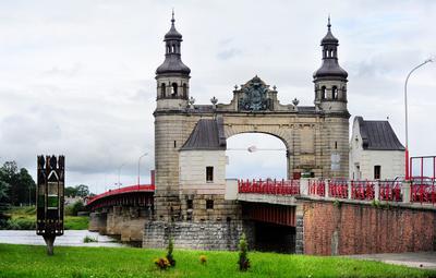 Тильзит. Мост королевы Луизы Тильзит, Калининград, Неман, Литва, королева Луиза.