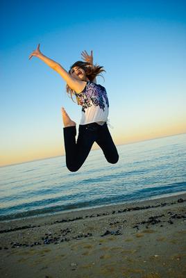 Fly high into the sky