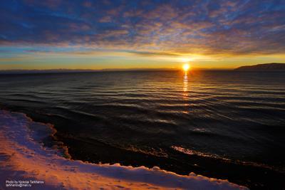 Байкал. Закаты Нового года. Байкал Прибайкалье Листвянка Закат Зима озеро Восточная Сибирь Baikal winter East Siberia