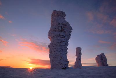Мань-пупу-нёр Мань-пупу-нёр Урал зима горы снег скалы останцы фотопутешествие фототур пейзаж природа