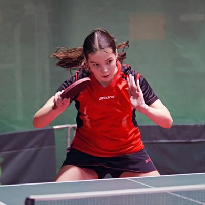Милена Шатилова. настольный теннис пинг-понг спорт table tennis ping-pong sport girl