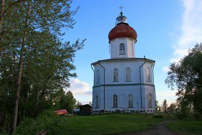 ***** церковь-маяк соловки храм