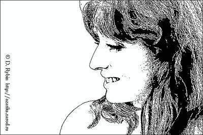 Портрет в графике портрет графика профиль