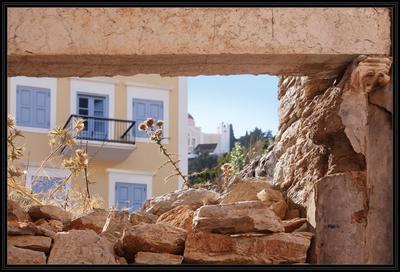 Про бег столетий...  Греция Додеканес остров Сими