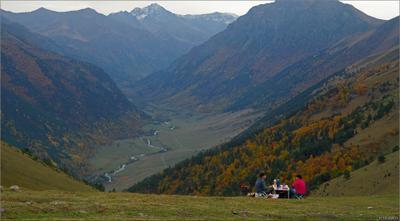 Пикник на высоте Карачаево-Черкесия Маруха осень